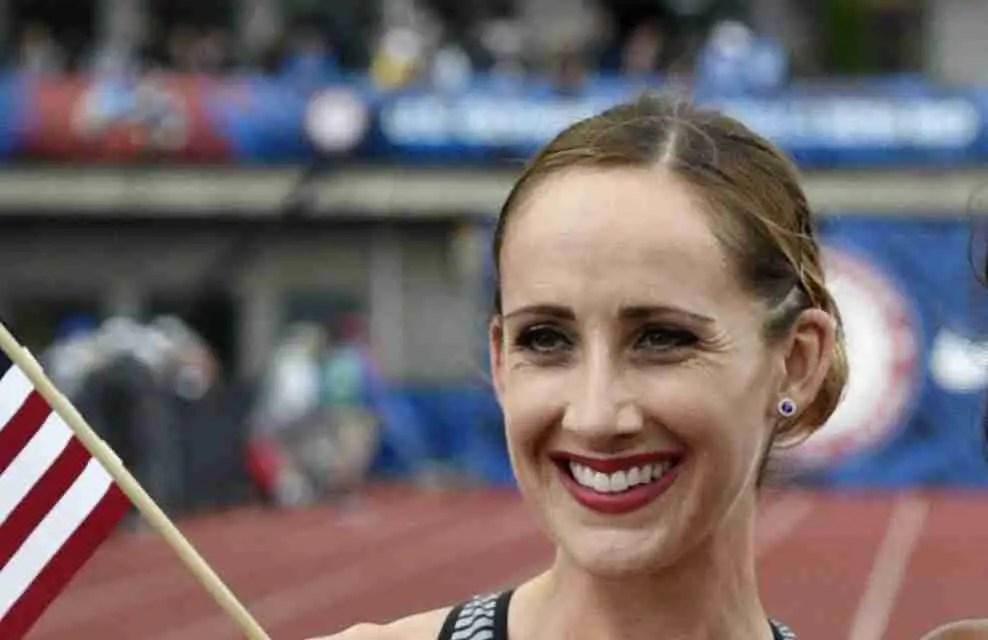 American distance runner Shannon Rowbury