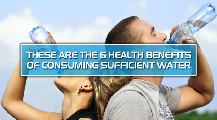 featured3 - These are the 6 health benefits of consuming sufficient water
