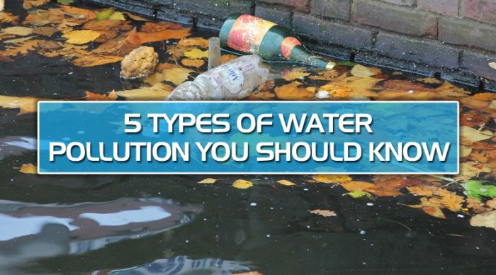featured5 - 5 types of water pollution you should know