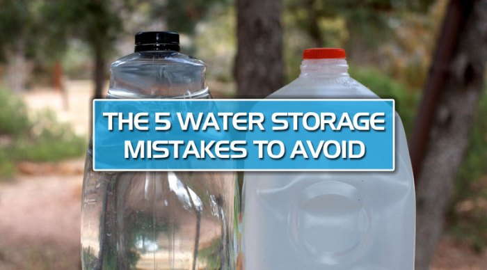featured10 - The 5 water storage mistakes to avoid