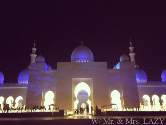 モスク外から