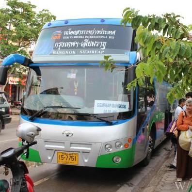 【情報】シェムリアップからバンコクへのおすすめ陸路移動