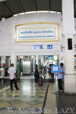 バンコク中央駅入口