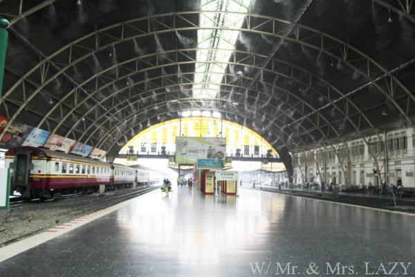 バンコク中央駅 ホーム