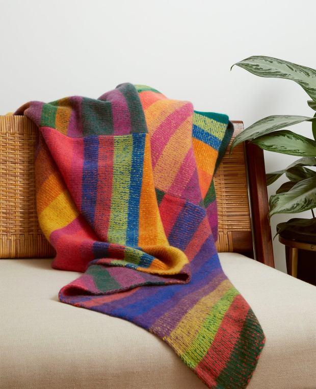The Elder Statesman's Super Soft Blankets