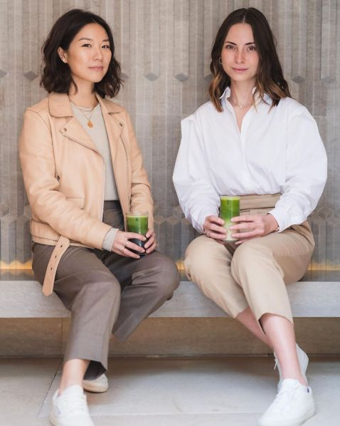 Cara Li and her cousin Laura Li launched Matchali