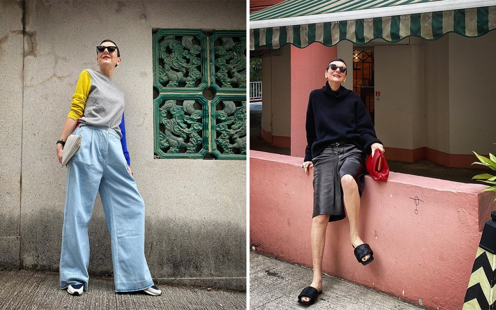 Frederique Gilain's style moments