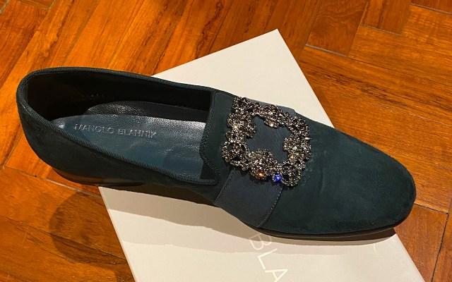 Steven Altman's Manolo Blahnik shoes