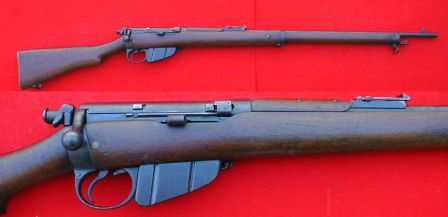 Lee-Enfield Mk.1 rifle - the original