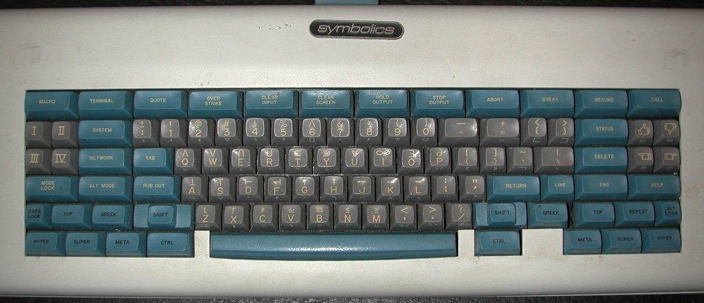 Space Kadet keyboard