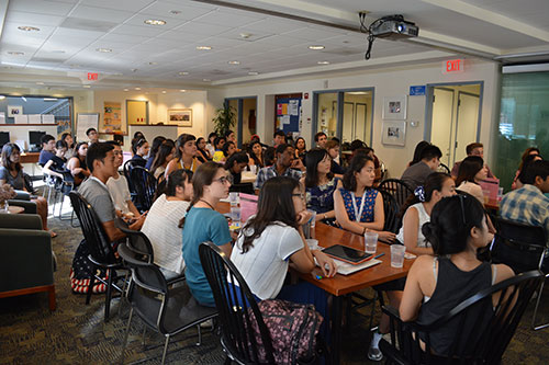 Expanded international orientation welcomes graduate