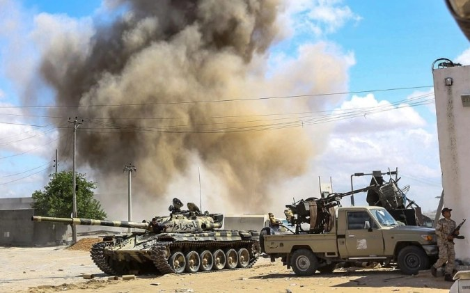 Haftar forces' fighter jet downed near Libya capital
