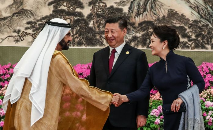 The UAE signed a massive, $3.4 billion deal with China