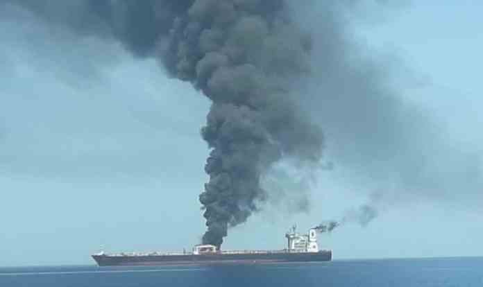 Japanese Trade Ministry Claims That Struck Tankers Had