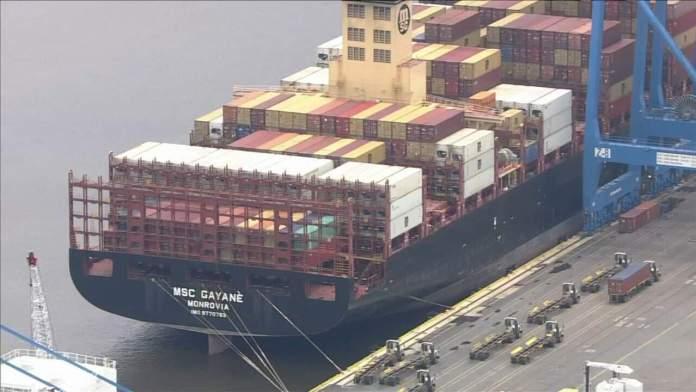 16.5 tons of cocaine worth $1 billion seized at Philadelphia port