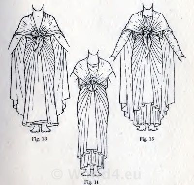 Egypt skirts, cloaks and cape. How to wear ancient Egypt costumes.
