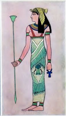 Ancient Egyptian costumes. How to wear ancient Egypt costumes.