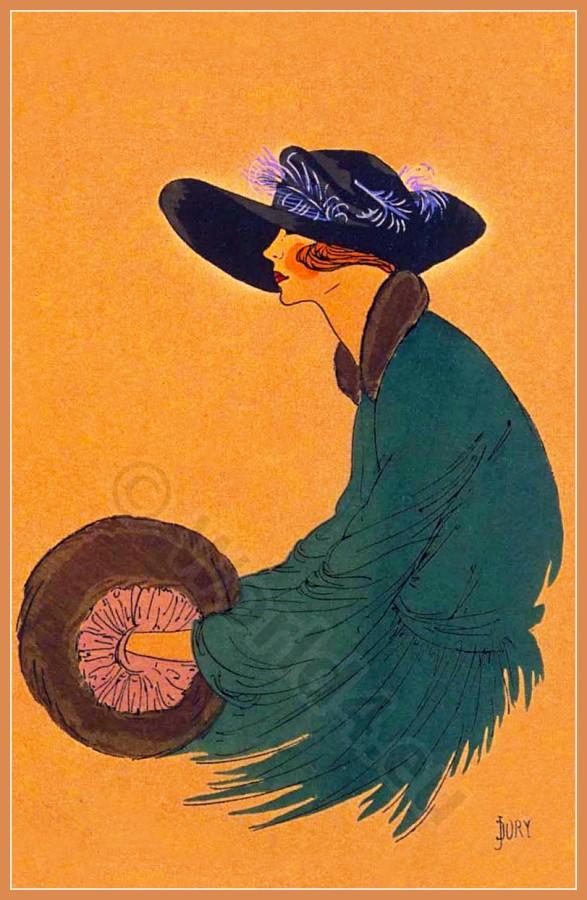 CHARME DE PARIS, Chapeaux, Très Parisien, Art deco, Art-deco, headdress, hat, fashion