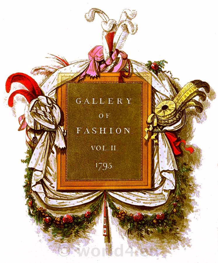 Regency, neoclassical fashion. Georgian fashion era in England.