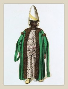 Sudanese eunuch of the Harem.