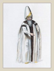 Grand Vizier. Ottoman Empire costume