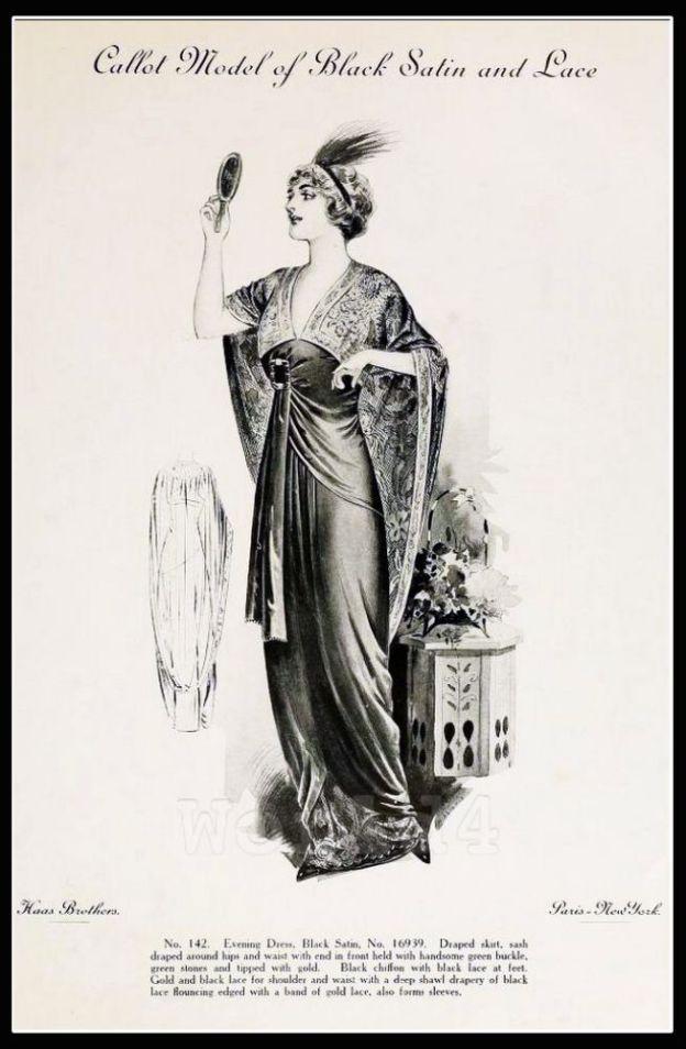 Callot Soeurs, costume, Fin de siècle, fashion, haute couture, Belle Époque