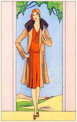 Jean Patou, Art deco, Flapper, 1920s Fashion history