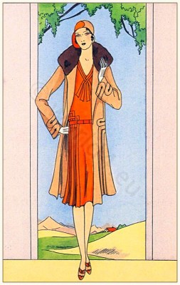 Jean Patou, Art deco, Flapper, 1920s Fashion history