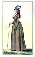 Revolution Costumes. French fashion history. France Directory dresses.
