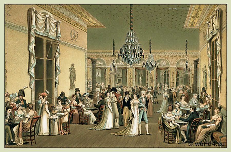 The salons of paris 1786 1789 costume history for Salons de paris