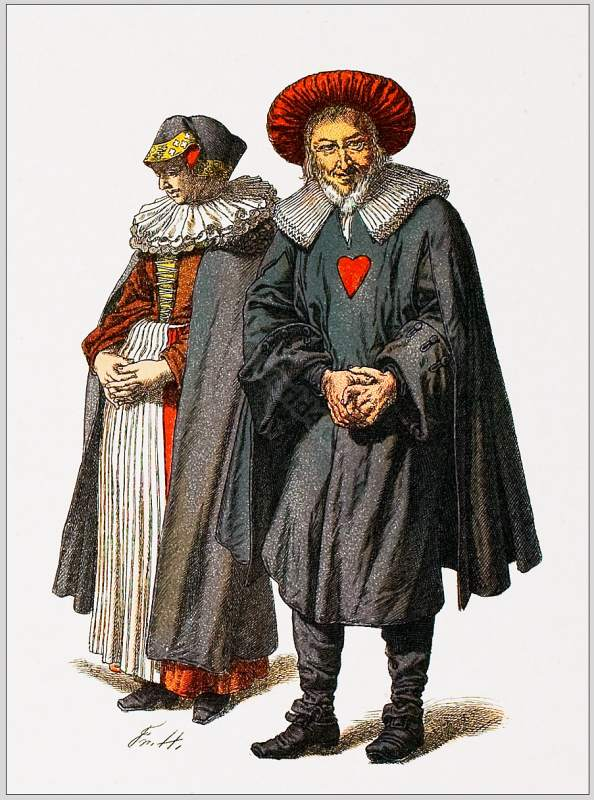 Jewish Traditional Clothing In Germany 18th Century