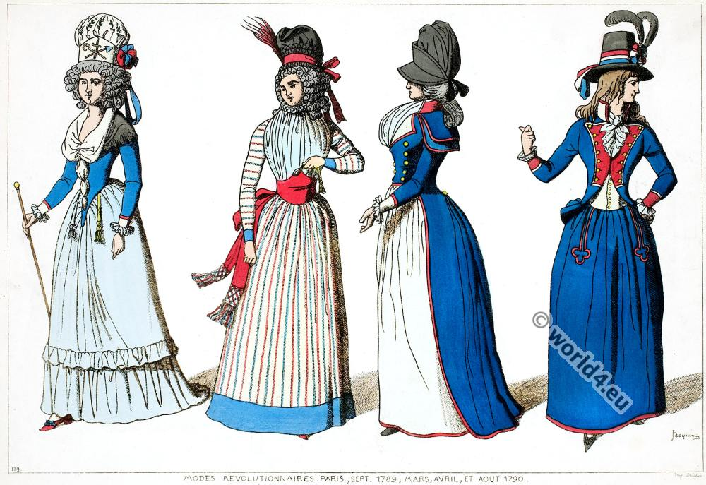 Fashion Under The French Revolution 1789 To 1802