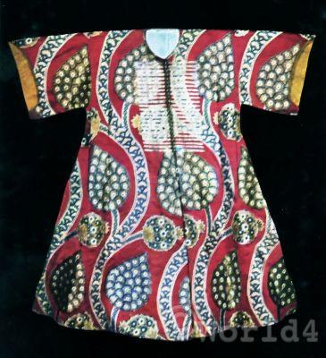 Kaftan of Sultan Osman III. Traditional Turkey Costumes,Traditional turkish mens dress, Traditional Ottoman Caftan