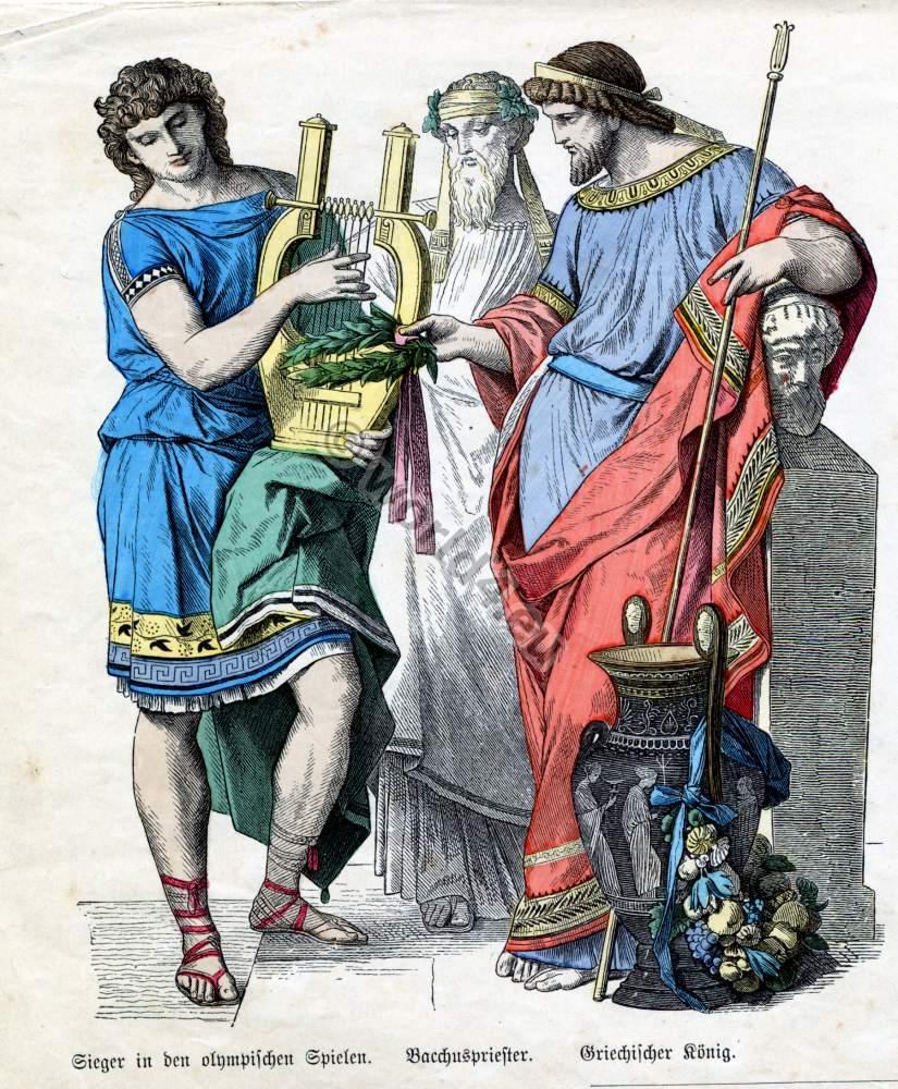Ancient greek king crown