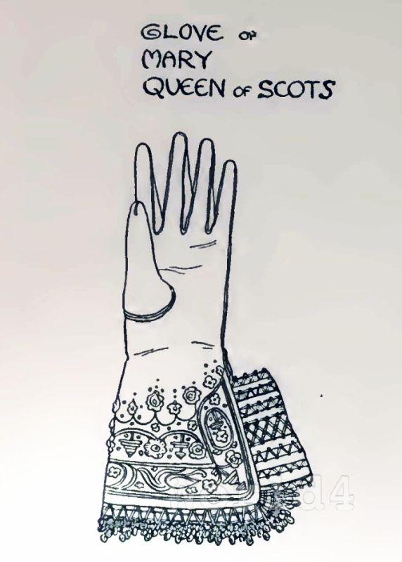 glove, Mary, Stuart, fashion history, england