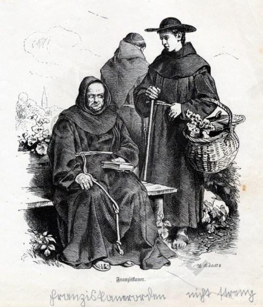 Franciscan, monks, habit, Monachism, Monastic, costumes,history,