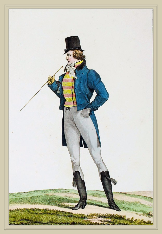 Incroyables And Muscadins Costume History