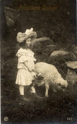 Boho vintage child costume. German Children and kids fashion