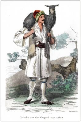 Athens, Traditional, Greek, national, costume, Historical costume