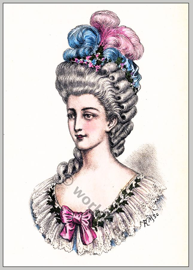 18th century french fashion plates 98