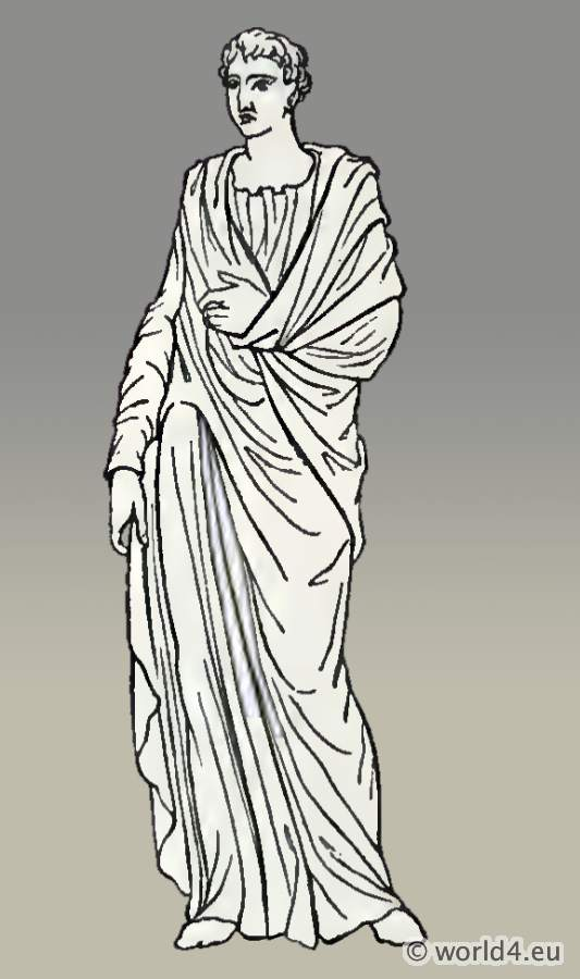 Roman Tunica. Long-sleeved tunic.