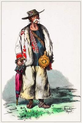 Traditional Croatia folk costume