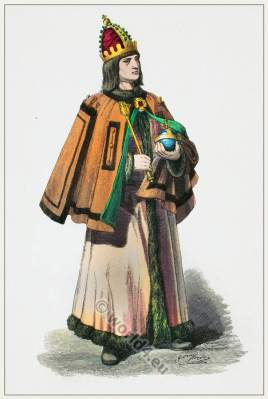 German Lord nobility costume