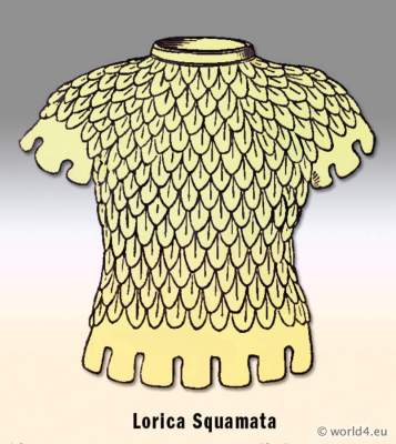 Ancient Roman Armour. chain mail