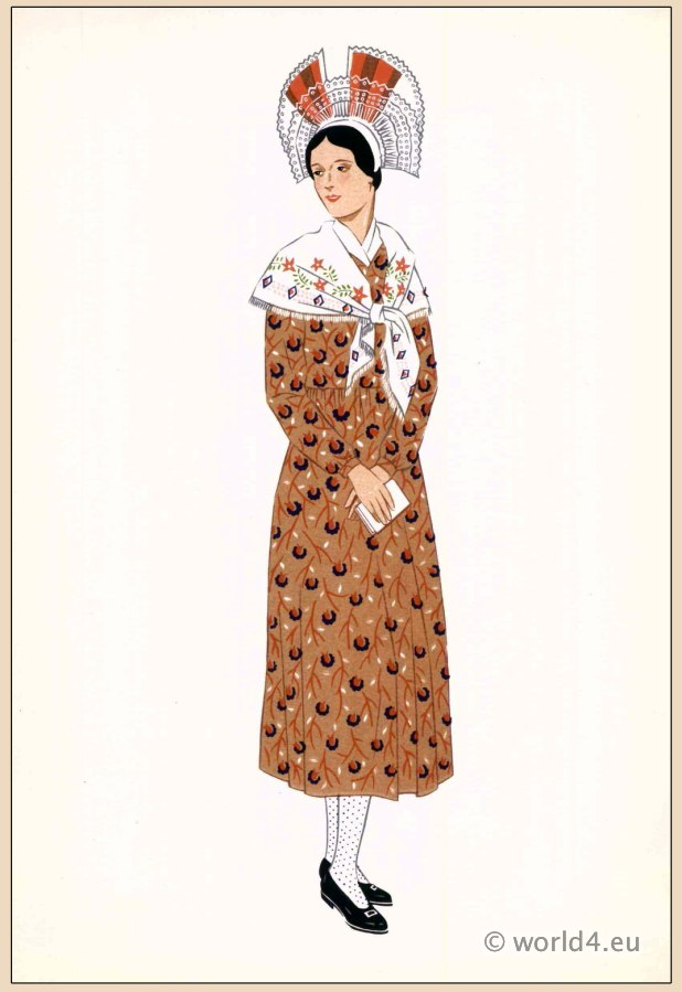 Champagne, traditional, French, France, national, costumes, dress, folk, clothing