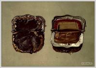 A purse worn by Sir Walter Scott.