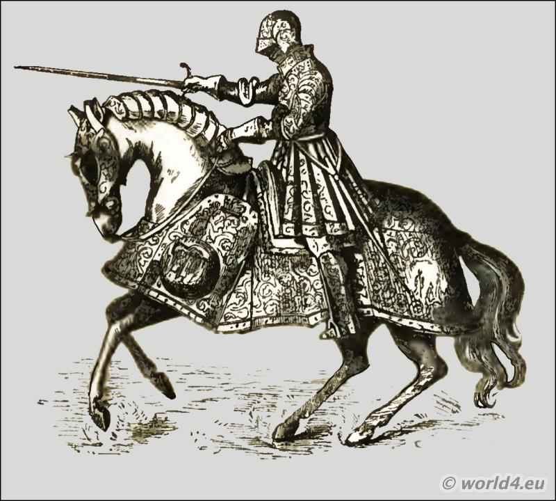 Henry VIII,  middle ages, knight