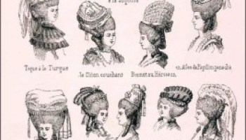 Pleasant Hairstyles France 18Th Century Various Head Dresses Costume Short Hairstyles Gunalazisus
