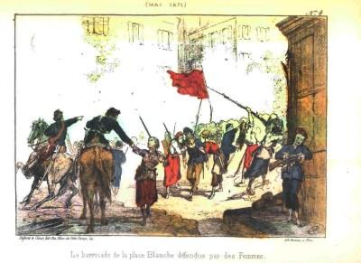 Vengereuses. Parisian communards, Paris Commune