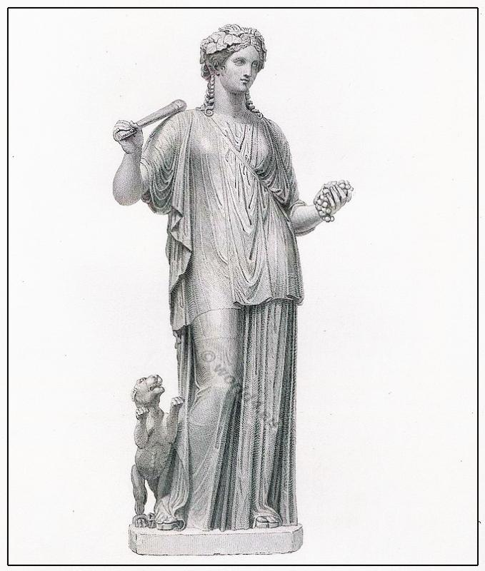 the roman tunica or greek chiton costume history